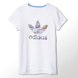 Футболка Adidas Kids J Flower Tee Adidas S14446