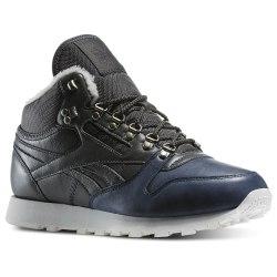 Кроссовки Reebok утепленные высокие Mens Cl Leather Mid Sherpa Reebok V67030