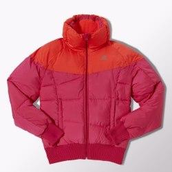Куртка-бомбер Adidas Womens утеплённая J P Prem Bmbr Adidas M65551