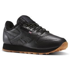 Кроссовки Mens CL LEATHER SHERPA TS Reebok AR3505