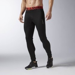 Тайтсы Reebok Mens FM SOLID BL TIGHT Reebok AX9063