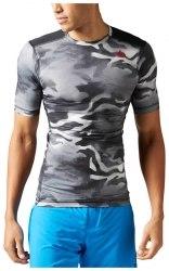 Компрессионная футболка ACTVCHL CAMO SS COMP Mens Reebok BK3935