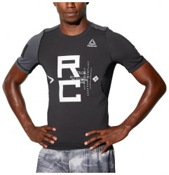 Компрессионная футболка COMBAT SS RASH GUARD Mens Reebok BP8867