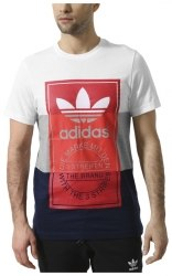 Футболка PANEL TONGUE TE Mens Adidas BQ3136