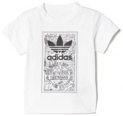 Футболка I GRAPHIC TEE Kids Adidas BK5735 (последний размер)