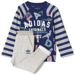 Костюм спортивный I FR NEWCREW Kids Adidas S95945
