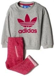 Костюм Adidas спортивный I TRF FT CREW Kids Adidas BK4698