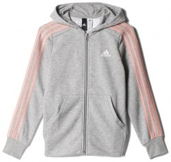 Толстовка Adidas YG 3S FZ HD Kids Adidas BP8620