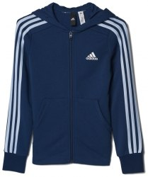 Толстовка Adidas YG 3S FZ HD Kids Adidas BP8623