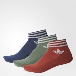 Носки 3 пары TREFOIL ANK STR Adidas BK5842