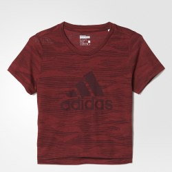Футболка детская YG AEROKNIT TEE Adidas BQ2902