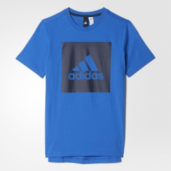 Футболка детская YB LOGO TEE 2 Adidas BJ9345