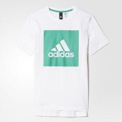 Футболка детская YB LOGO TEE 2 Adidas BJ9350