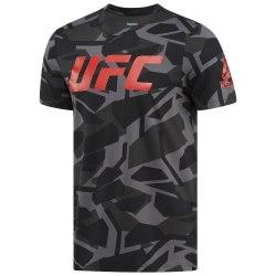 Футболка мужская UFC FG SMASH CAMO SS TEE Reebok BQ2961