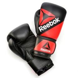 Боксёрские перчатки Leather Training Glove16oz Reebok BG9380