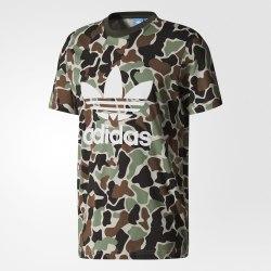 Футболка мужская CAMO TREFOIL T Adidas BS4973