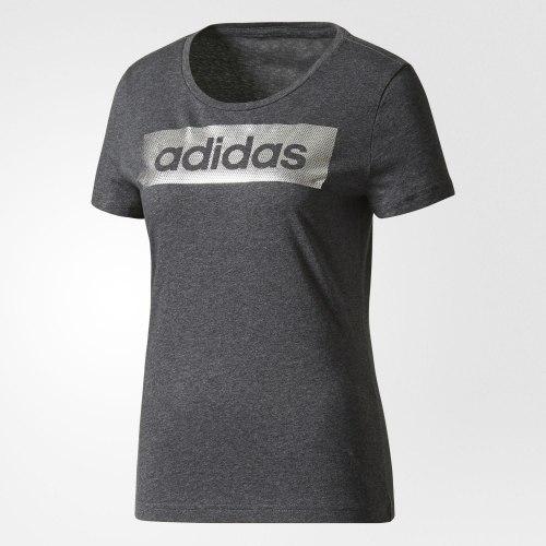 Футболка женская LINEAR FOIL TEE Adidas CD1979