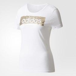 Футболка женская LINEAR FOIL TEE Adidas CD1981