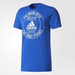 Футболка мужская ADIDAS BADGE Adidas CD9114