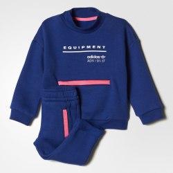 Костюм спортивный детский I EQT CREW Adidas BQ4353