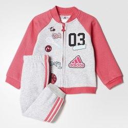 Костюм спортивный детский I FUN JOG FL Adidas CE9737