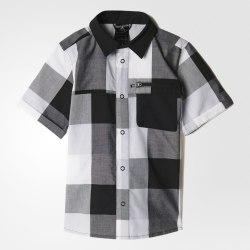 Рубашка детская B CHECKPLAY SS Adidas B45588