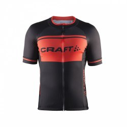 Джерси велосипедное мужское Classic Logo Jersey Man SS 16 Craft 1903296-9569