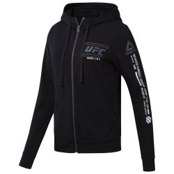 Худи женская UFC FG Zip Hoodie Reebok CG0657