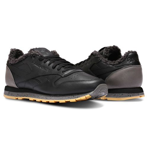 Кроссовки мужские CL LEATHER LOW SHERPA SPP Reebok CN1817