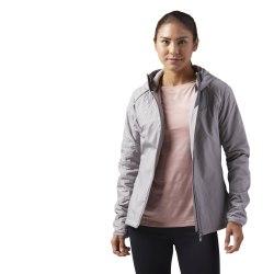 Куртка женская на флисе TRAIL FL JKT Reebok CV6758