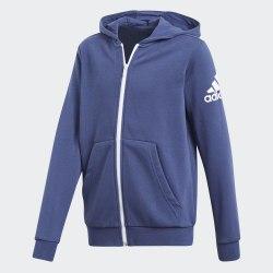 Худи детская YB LOGO FZ HOOD Adidas CF6480