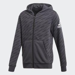 Худи детская YB LOGO FZ HOOD Adidas CF6485 (последний размер)