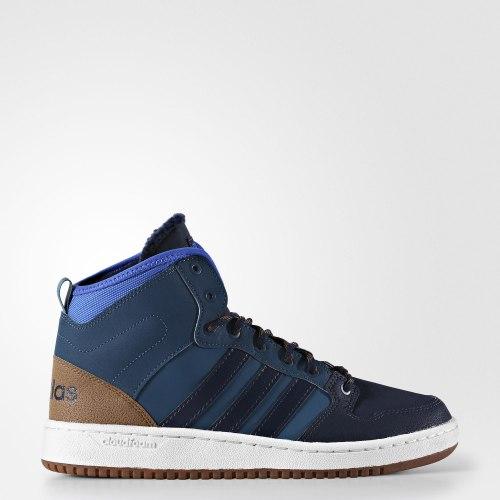 Кроссовки высокие мужские CF HOOPS MID WTR Adidas AC7791 (последний размер)