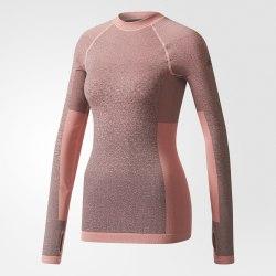 Лонгслив для бега женский SEAMLESS LS Adidas BR6396