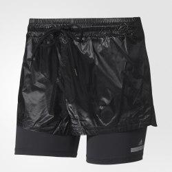 Шорты женские RUN 2IN1 SHORT Adidas S99220