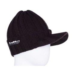 Шапка зимняя CAP WINTER TRACE KN CHOCOLATE Lotto K2031
