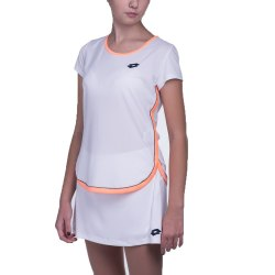 Футболка женская SHELA III TEE G WHITE/ORANGE 925 Lotto S8661