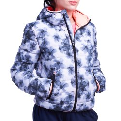 Куртка утепленная женская IZA III BOMBER PAD PRT W PEARL PRT Lotto S9357