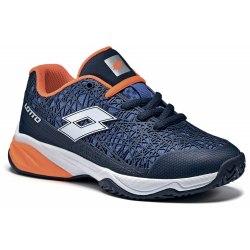 Кроссовки для тенниса детские VIPER ULTRA JR L BLUE AVIATOR/WHITE Lotto S9472