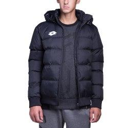 Куртка утепленная детская BOMBER DELTA JR BLACK/WHITE Lotto S9823