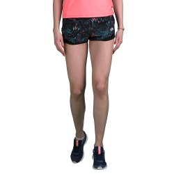 Шорты женские URSULA VI SHORT PL W BLACK TROPICAL PRT Lotto T2198