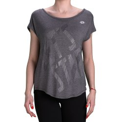 Футболка женская INDY V TEE W GREY MARBLE ARDESIA Lotto T2220
