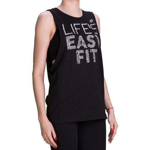 Майка женская EASY FIT TANK W BLACK Lotto T3010