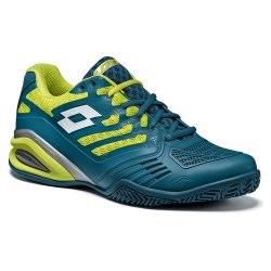 Кроссовки для тенниса мужские STRATOSPHERE III CLY GREEN DANDY/WHITE Lotto T3317 (последний размер)