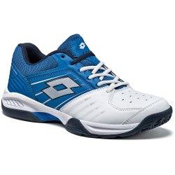 Кроссовки для тенниса мужские T-TOUR 600 X WHITE/BLUE SPOT Lotto T3335