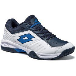 Кроссовки для тенниса мужские T-TOUR 600 X WHITE/BLUE ATLANTIC Lotto T3336 (последний размер)