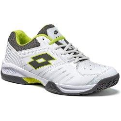 Кроссовки для тенниса мужские T-TOUR 600 X WHITE/YELLOW SAFETY Lotto T3338 (последний размер)