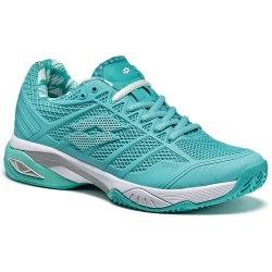 Кроссовки для тенниса женские VIPER ULTRA IV CLY W GREEN THAI/WHITE Lotto T3342