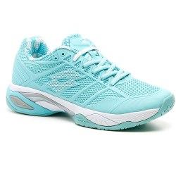 Кроссовки для тенниса женские VIPER ULTRA IV SPD W GREEN THAI/WHITE Lotto T3344