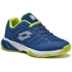 Кроссовки для тенниса детские VIPER ULTRA II JR L BLUE OIL/WHITE Lotto T3355